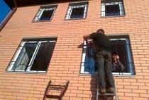 Монтаж решеток в Кстове