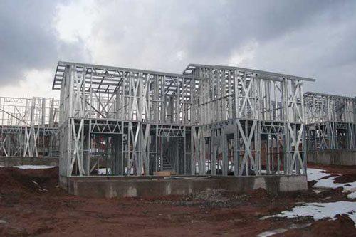Здания на основе облегчённого металлического каркаса в Кстове